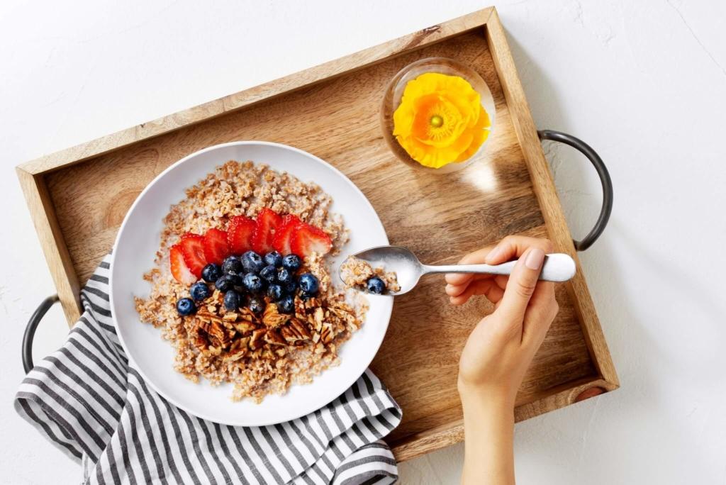 Завтрак перед кардио тренировкой