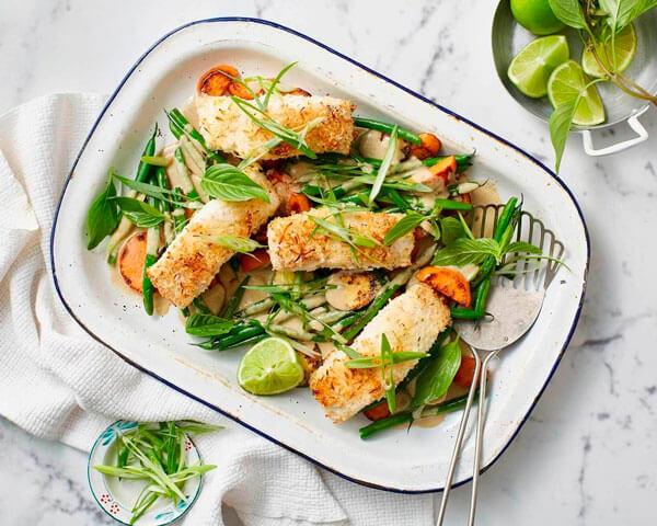Рыба с овощами: диетический и вкусный рецепт