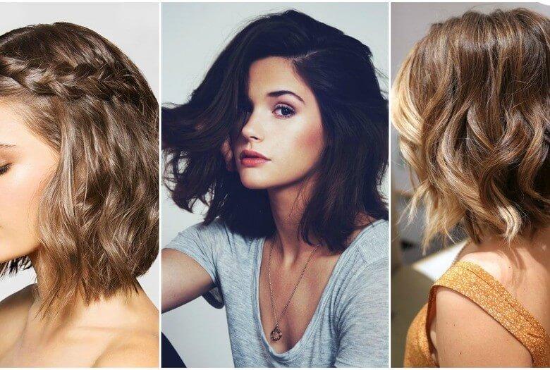 Идеи причесок для средних волос
