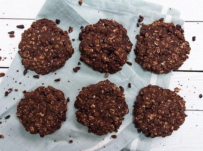 Низкокалорийное печенье с корицей