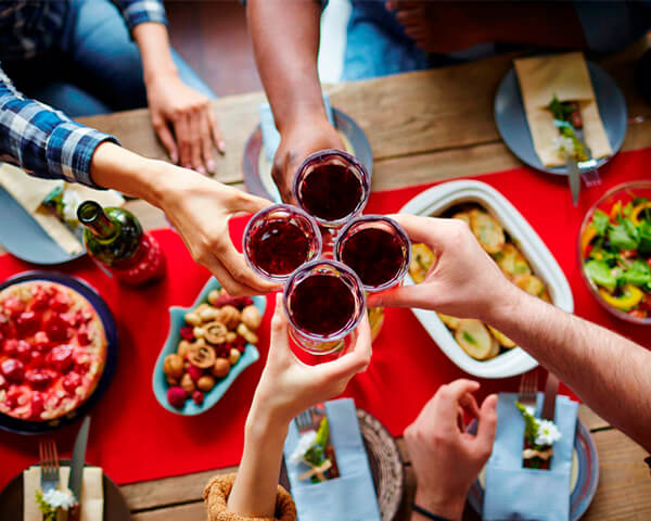 Правильное питание на праздники