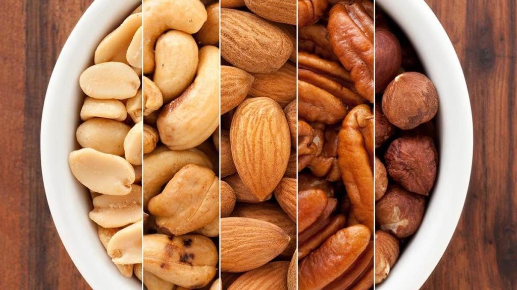 Орехи и семечки как продукт для похудения