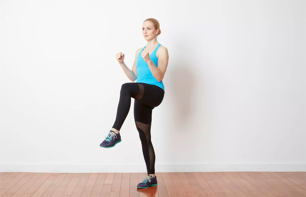 Бег на месте эффективен для похудения