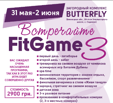 Встречайте FitGame 3 — Made in FitCurves
