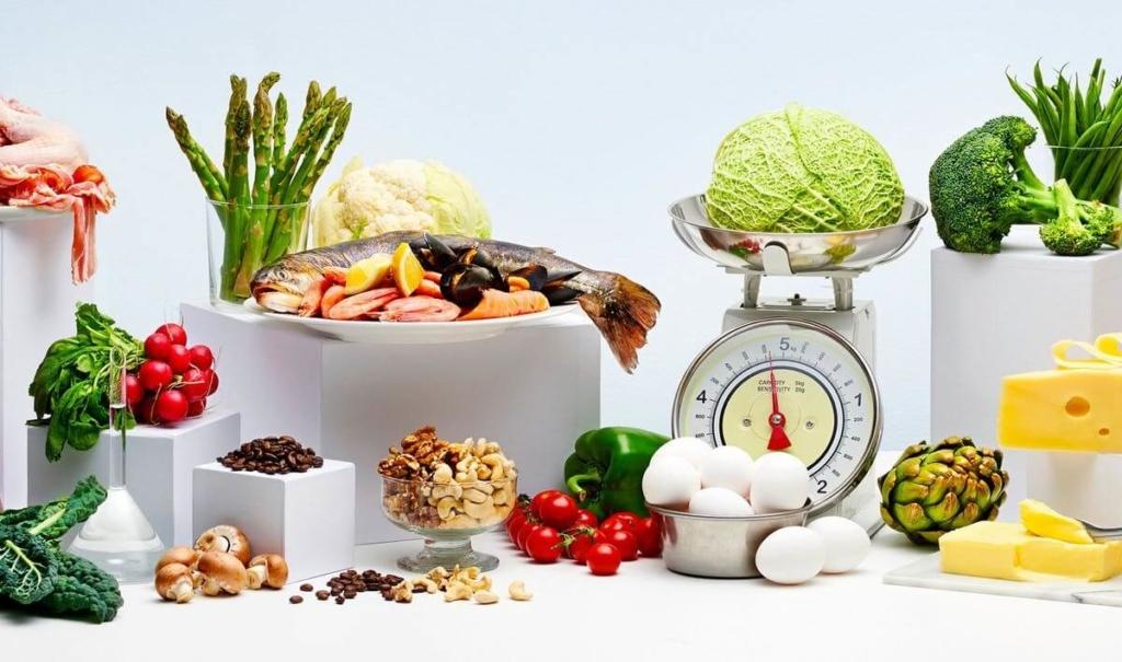 Основные продукты при низкоуглеводной диете