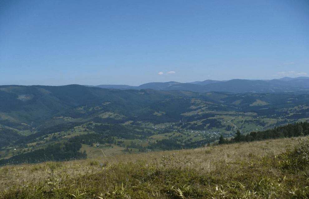 Фото гор Украины