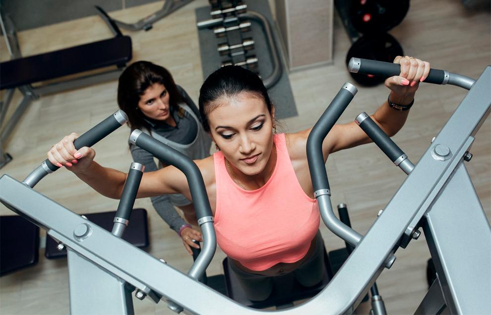 Силовые тренировки ускоряют метаболизм
