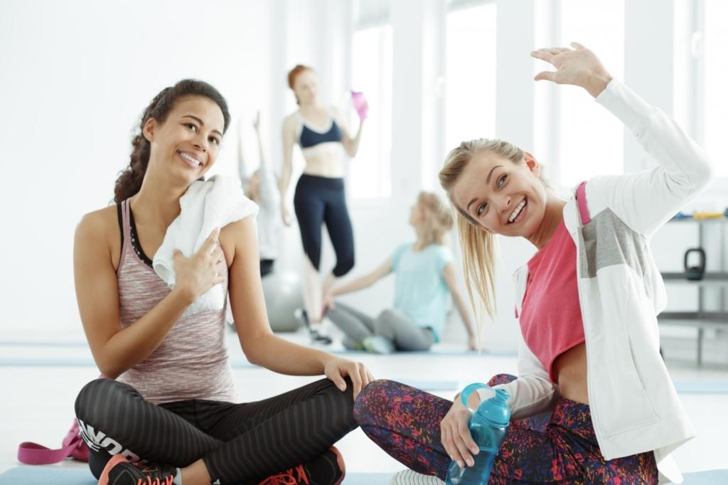 Привлеките к тренировке друга или подругу