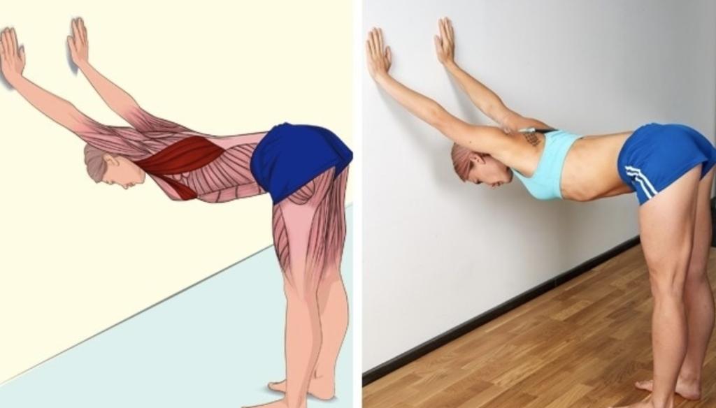 Упражнения для растяжки мышц груди