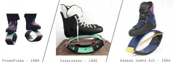 Эволюция изобретения ботинок Kangoo Jumps