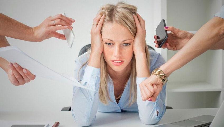 Отсутствие стресса
