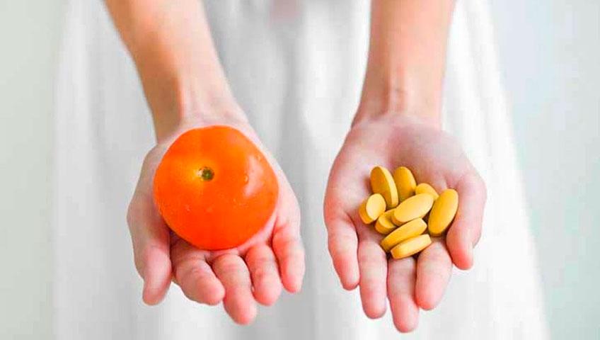 Натуральные и синтетические витамины