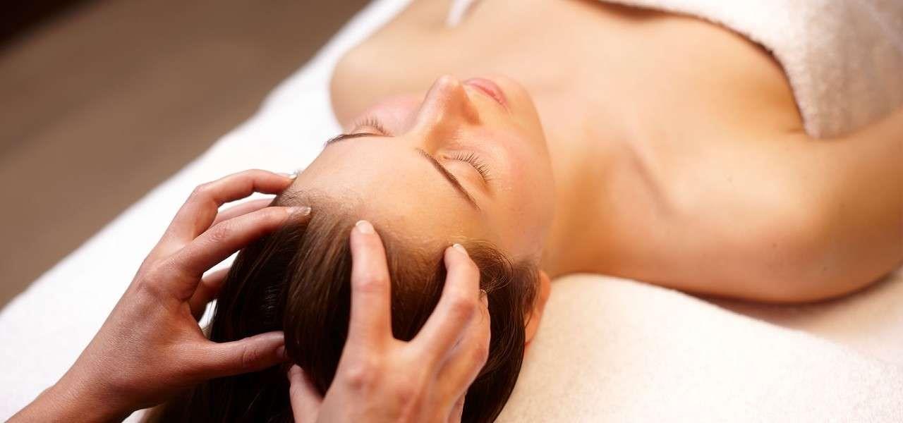Делайте массаж головы