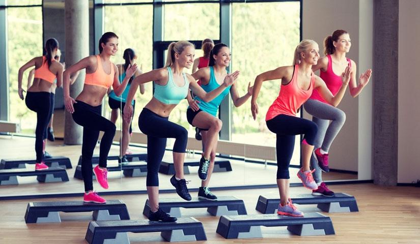 Все о степ-аэробике для похудения, как правильно делать шаги, виды шагов