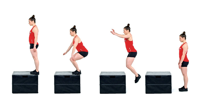 прыжки на платформу фото